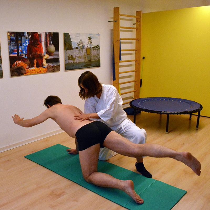 Physiotherapeutin Andrea Frank